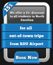 Student Special From RDU Airport